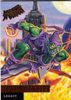 2017 FLEER ULTRA SPIDER-MAN LEGACY CARD L4 GREEN GOBLIN
