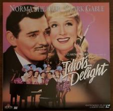LASERDISC Movie: IDIOT'S DELIGHT - Clark Gable, Norma Shearer - Collectible