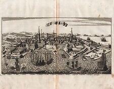KOPENHAGEN Ansicht sehr schöner Kupferstich - Original von 1685!!