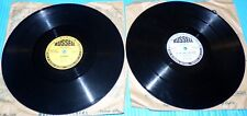 "Russell Records 2X10"" 78rpm Dance Records YES SIR, THAT'S MY BABY, JOSEPHINE"