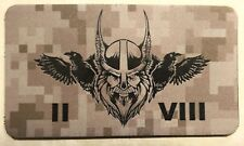 Naval Special Warfare SEAL Team Eight /  8, 2 Troop Odin Desert Infrared Patch