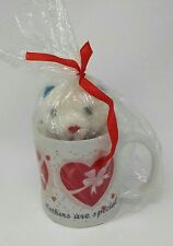 "Mothers are special: For My Mom Mug & Plush ""Love Mom"""