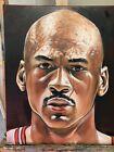 Michael Jordan Portrait Artwork Original Painting -One Of A Kind- Sold By Artist
