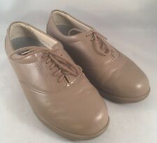 SAS Whisper Shoes Womens Size 5.5M Mocha Leather Tripad Lace-Ups Made in USA