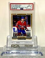 2019-20 Upper Deck O-Pee-Chee Glossy Rookie-Gold Ryan Poehling 🔥PSA 10 🔥Pop 1