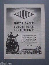 R&L Ex-Mag Advert: Miller Motorcycle Electrical Equipment, Birmingham