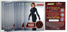1X BLACK WIDOW 2015 Avengers Age Of Ultron Subway PROMO SAMPLE NMMT Lots Availab