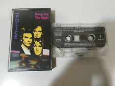 POLICE BRING ON THE NIGHT - CINTA TAPE CASSETTE K7 OVER LOAD ITALY EDITION