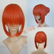 Cosplay wigs | Gintama | Kagura Yoshihara articles | bun Removable Orange wig