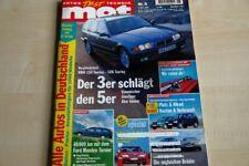 3) MOT 06/1995 - Kia Sportage 2.0 4WD mit 128PS - VW Golf III Variant 1.8 GL syn