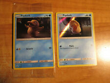 SEALED+NM Pokemon PSYDUCK Card BLACK STAR PROMO Set SM199 7/18 Detective Pikachu
