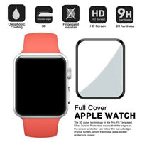 3D Tempered Glass Screen Protector For Apple Watch iWatch 38/42mm Series 1 2 3