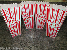 Set of 4 Popcorn movie plastic container box - Presentation is Everything