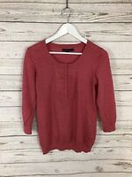 BODEN Jumper - Size UK12- Wool - Pink - Great Condition - Women's