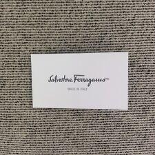 SALVATORE FERRAGAMO Brand New 100% Genuine Authenticity Cards