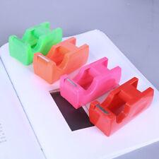 Plastic With Tape Cutter Dispenser Masking Tape Holder Random Color School
