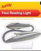 Flexible Book Reading LED Light Clip On Spotlight For Travel Camping Night Lamp