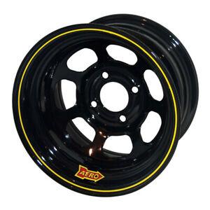Aero Race Wheels - 30-Series - 13x7 - 3in BS - 4x4.5 - Steel - Black