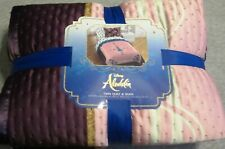 Disney Aladdin & Jasmine Twin Quilt & Pillow Sham NEW!