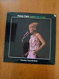 Petula Clark - Colour My World VG  (Vinyl LP Album - Pye Records NPL 18171)