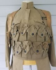 WWI WW1 U.S. Summer Tunic Uniform,Hversack,Grenade Vest,Army,Original,Infantry