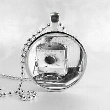 VINTAGE CAMERA Necklace Pendant, Antique Camera, Photographer Photography