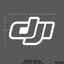 DJI Logo Phantom Vinyl Decal Drone Quad Copter Inspire FPV Phantom 3