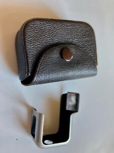 Minox Model B Right Angle Finder in Brown Leather Case Unusual