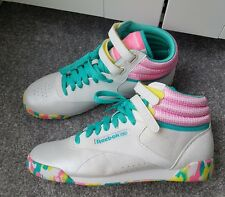 Reebok Classic Trainers Womens Freestyle Hi Pastel Sneaker *RARE* *NEW* Size 5.5