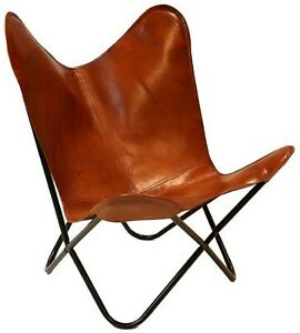 Vintage Leather Lounge Relax Arm Chair Handmade Genuine Leather(Only Cover)