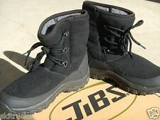 SNOW BOOTS, AFTER SKI boots, after SNOWBOARDboots, JiBS BLACK LACE, SIZE  11