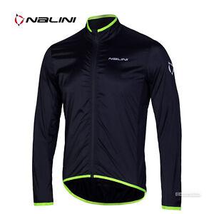 NEW Nalini BRIZA Mid-Season Lightweight Windproof Cycling Jacket : BLACK