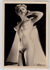#677 RÖSSLER AKTFOTO / NUDE WOMAN STUDY * Vintage 1950s Studio Photo - no PC !
