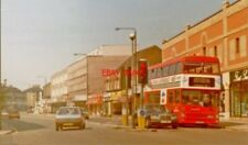 PHOTO  LONDON 1989 WEST VIEW ON UPPER RICHMOND ROAD AT SHEEN LANE EAST SHEEN