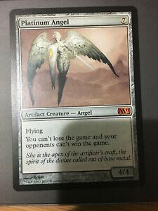 Magic the gathering - platinum angel - Magic 2011 - Mythic - MTG