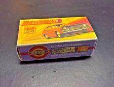 Matchbox Superfast No54 Ford Capri, Custom made box  NO car.