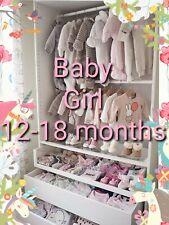 Bebé niña prendas de vestir hacer su propio paquete de tamaño 12-18 meses Vestido Traje Para Nieve Abrigo