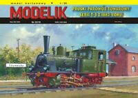 ORIGINAL PAPER-CARD MODEL KIT - Prussian Freight steam locomotive from 1882