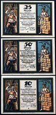"KOELN-MUELHEIM (COLOGNE) 1921 ""Blacksmith/Mercury"" rare complete Notgeld Germany"