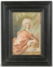 """Portrait of Christian Ulrich Grupen, Mayor of Hanover"", important German pastel"