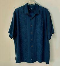 Tommy Bahama Hawaiian Men's Camp Shirt XXL 100% Silk Big &Tall EUC