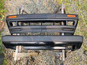 '85 - '92 Mk2 Vw Jetta Big Bumpers Front & Rear w/ Lip GLI Diesel 8v 16v OEM A2