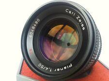 Cámara Digital experto en cámara/Lente Contax Zeiss Planar T * 1.4/50mm Lente d SLR
