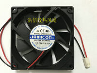 for JAMICON JF0825S1HS DC12V 0.19A 8CM 8025 Power Cooling Fan