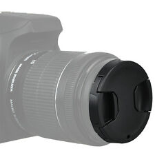 KIWI 52mm Snap-on Center Pinch Front Lens Cap Filter Cover for Sony Canon Nikon