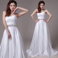 A-Linie Brautkleid Hochzeitskleid Kleid für Braut creme weiß oder weiß B1291