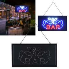 Neon Animated Led Bar Club Business Sign Open Light Bar Store Shop Display New