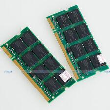 KIT 2GO 2x1GO PC2100 DDR266 266mhz 200PIN 1GB 266Mhz Laptop Mémoire SO-DIMM RAM
