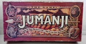 Vintage Jumanji Board Game - Original 1995 Milton Bradley COMPLETE - Incomplete