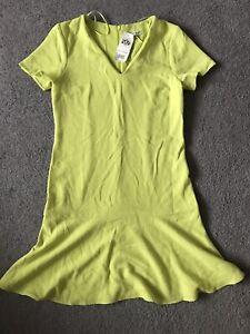 Miss Selfridges Dress Sleeves UK 8 Sale Brand New Free Postage Yellow